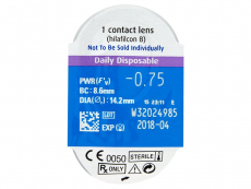 SofLens Daily Disposable (90db lencse)