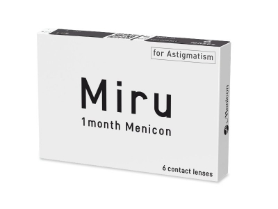 Miru 1 Month Menicon for Astigmatism (6 lencse)