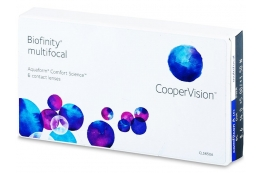 Biofinity Multifocal (6 db lencse) - Cooper Vision