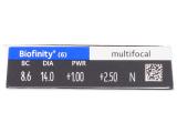 Biofinity Multifocal (6 db lencse)