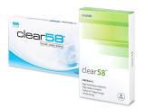 alensa.hu - Kontaktlencsék - Clear 58