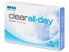 Clear All-Day (6 db lencse)