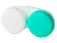 alensa.hu - Kontaktlencsék - Zöld-fehér kontaktlencse tartó