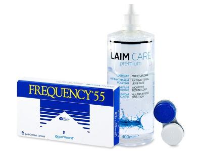 Frequency 55 (6db lencse) + 400ml Laim-Careápolószer