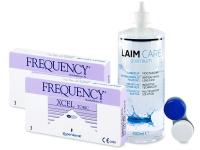 FREQUENCY XCEL TORIC XR (2x3db lencse) +400 ml Laim-Careápolószer