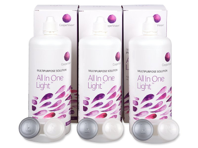 All In One Light ápolószer 3 x 360 ml