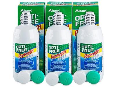 OPTI-FREE RepleniSH kontaktlencse folyadék 3x300ml