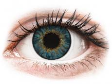 Kék Air Optix Colors kontaktlencse - dioptriával (2db lencse)