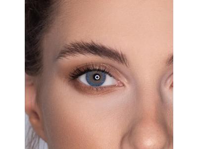 Kék Air Optix Colors kontaktlencse - dioptria nélkül (2db lencse)