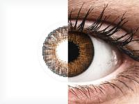 Barna Air Optix Colors kontaktlencse - dioptria nélkül (2db lencse)