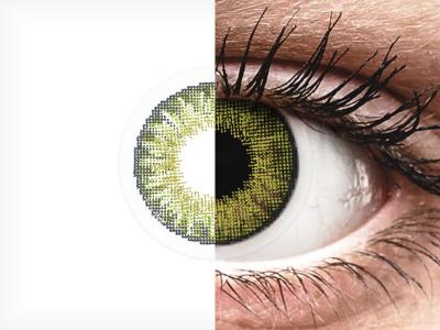 Drágakő zöld Air Optix Colors kontaktlencse - dioptriával (2db lencse)