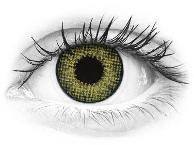 Drágakő zöld Air Optix Colors kontaktlencse - dioptria nélkül (2 dblencse)