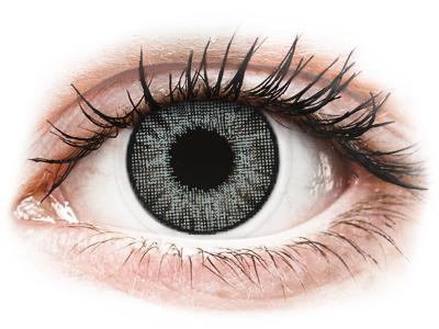 Ezüstszürke Air Optix Colors kontaktlencse - dioptria nélkül (2 dblencse)