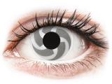 alensa.hu - Kontaktlencsék - Fehér és szürke Blade ColourVUE Crazy Lens lencse - dioptria nélkül