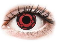 alensa.hu - Kontaktlencsék - Piros Madara ColourVUE Crazy Lens kontaktlencse - dioptria nélkül