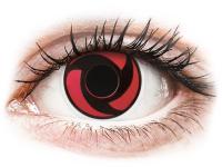 alensa.hu - Kontaktlencsék - Piros Mangekyu ColourVUE Crazy Lens kontaktlencse - dioptria nélkül