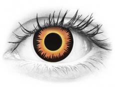 Narancssárga Werewolf ColourVUE Crazy Lens lencse - dioptria nélkül (2 db lencse)