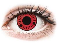 alensa.hu - Kontaktlencsék - Piros Sasuke ColourVUE Crazy Lens kontaktlencse - dioptria nélkül