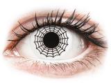 alensa.hu - Kontaktlencsék - Fekete-fehér Spider ColourVUE Crazy Lens kontaktlencse - dioptria nélkül