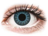 alensa.hu - Kontaktlencsék - Kék Solar Blue ColourVUE Crazy Lens kontaktlencse - dioptriás