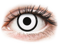 alensa.hu - Kontaktlencsék - Fehér White Zombie ColourVUE Crazy Lens kontaktlencse - dioptriával