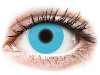 alensa.hu - Kontaktlencsék - Kék ColourVUE Crazy Glow kontaktlencse - dioptria nélkül