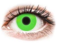 alensa.hu - Kontaktlencsék - Zöld ColourVUE Crazy Glow kontaktlencse - dioptria nélkül
