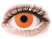 alensa.hu - Kontaktlencsék - Narancssárga ColourVUE Crazy Glow - dioptria nélkül