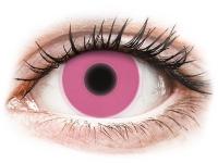 alensa.hu - Kontaktlencsék - Rózsaszín ColourVUE Crazy Glow kontaktlencse - dioptria nélkül