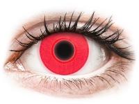 alensa.hu - Kontaktlencsék - Piros ColourVUE Crazy Glow kontaktlencse - dioptria nélkül