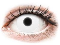 alensa.hu - Kontaktlencsék - Fehér ColourVUE Crazy Glow kontaktlencse - dioptria nélkül