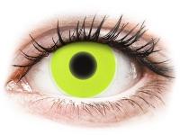 alensa.hu - Kontaktlencsék - Sárga ColourVUE Crazy Glow kontaktlencse - dioptria nélkül