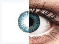 Kék TopVue Color Daily kontatktlencse - dioptriával (10lencse)