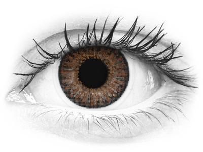 Barna TopVue Color Daily kontaktlencse - dioptriával (10lencse)