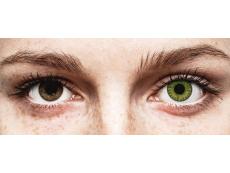 Friss zöld TopVue Color Daily kontaktlencse - dioptriával (10lencse)