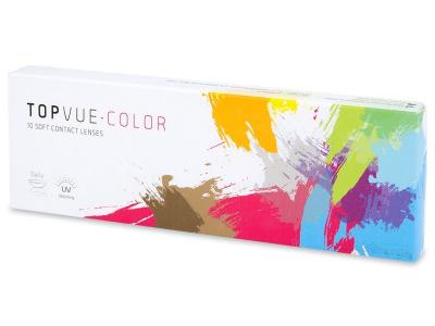 Zafírkék TopVue Color Daily kontaktlencse - dioptriával (10lencse)