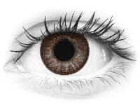 Barna TopVue Color kontaktlencse - dioptriával (2lencse)