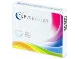 Barna TopVue Color kontaktlencse - dioptria nélkül (2 db lencse)