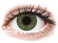 alensa.hu - Kontaktlencsék - Zöld TopVue Color kontaktlencse - dioptria nélkül