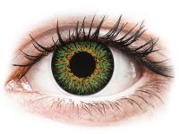 alensa.hu - Kontaktlencsék - Zöld ColourVUE Glamour kontaktlencse - dioptria nélkül