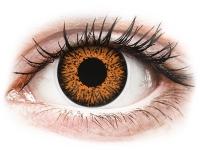 alensa.hu - Kontaktlencsék - Mézszínű ColourVUE Glamour kontaktlencse - dioptriával