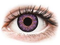 alensa.hu - Kontaktlencsék - Ibolyaszínű ColourVUE Glamour kontaktlencse - dioptria nélkül
