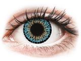 alensa.hu - Kontaktlencsék - Kék Aqua ColourVUE Elegance kontaktlencse - dioptria nélkül