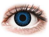 alensa.hu - Kontaktlencsék - Kék Aqua ColourVUE Eyelush kontaktlencse - dioptria nélkül