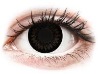 alensa.hu - Kontaktlencsék - Fekete Dolly ColourVUE BigEyes kontaktlencse - dioptria nélkül