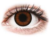 Barna Pretty Hazel ColourVUE BigEyes lencse - dioptriás (2db lencse)