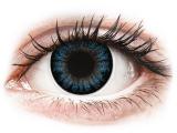 alensa.hu - Kontaktlencsék - Kék Cool Blue ColourVUE BigEyes kontaktlencse - dioptriás