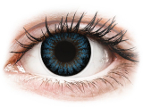 alensa.hu - Kontaktlencsék - Kék Cool Blue ColourVUE BigEyes kontaktlencse - dioptria nélkül