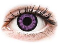 alensa.hu - Kontaktlencsék - Lila Ultra Violet ColourVUE BigEyes kontaktlencse - dioptria nélkül