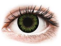 alensa.hu - Kontaktlencsék - Zöld Party Green ColourVUE BigEyes kontaktlencse - dioptria nélkül